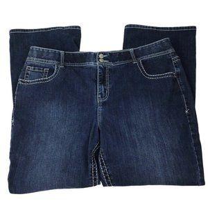 Lane Bryant Womens High Rise Bootcut Jeans Size 20